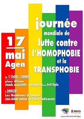 Journée mondiale de lutte contre les LGBTp-phobies