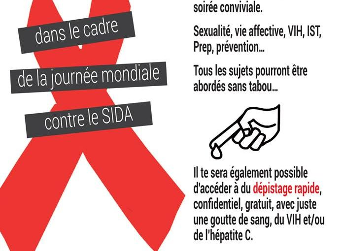A l'occasion de la journée mondiale de lutte contre le VIH